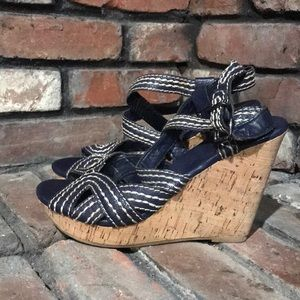 BR wedge sandals